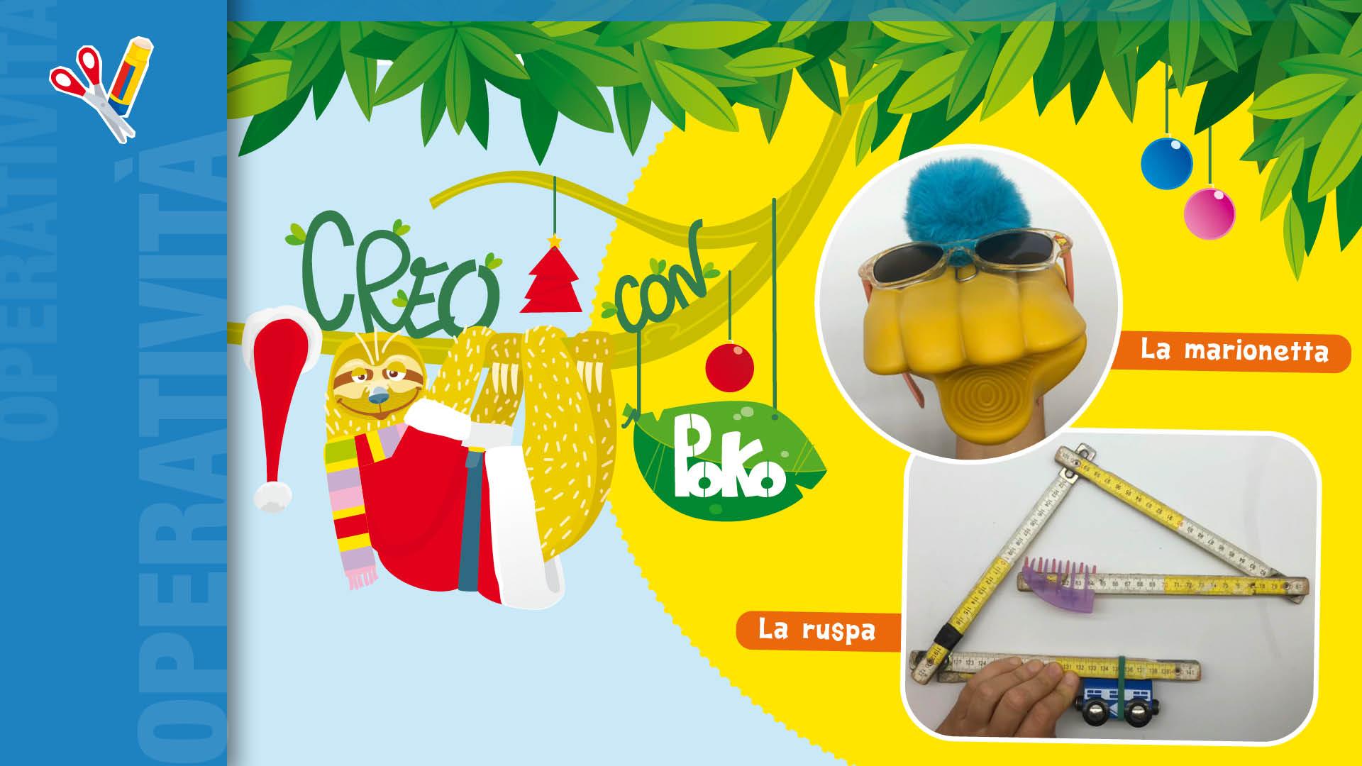 Creo con Poko Tinkering di Natale - Apertura
