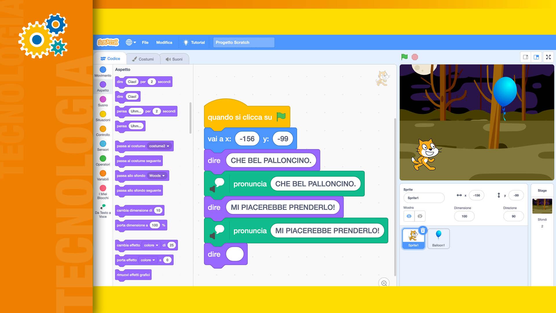 Apertura articolo storytelling con Scratch